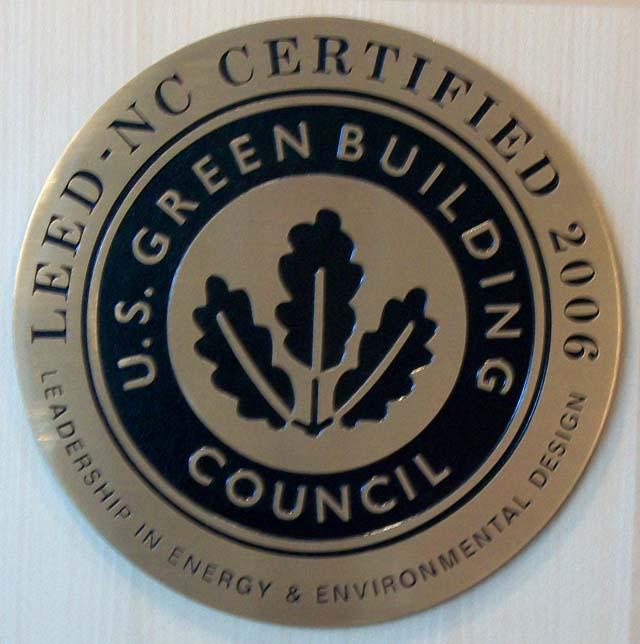U.S. Green Building Council Award